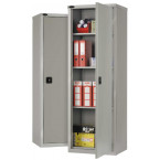 Probe SLC702418 Industrial Slim Steel Cabinet 610x460 - All Silver Grey