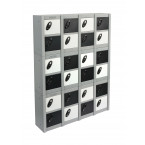 Probe Minibox Mobile Phone Wall/Stacking Locker 8 Doors - triple stacked