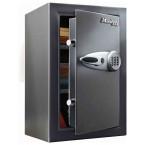 Master Lock T6-331 Digital Electronic Security Safe - door ajar
