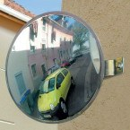Vialux Parking Assistance Mirror 300mm - outdoors