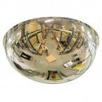 Wide Angle 66cm Polycarbonate Ceiling Dome Convex Mirror - Vialux 3660PC 66cm