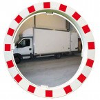 Extra Large Convex Traffic Mirror Post/Wall Fixing 90cm - Vialux 549
