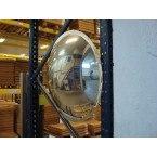 Vialux 56-57 Pallet Racking 4 Way Convex Wall Mirror 570mm 0n pallet racking