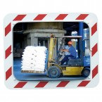 Vialux 854-SS Stainless Steel Traffic Mirror 600x400