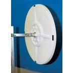 Vialux 9050 Wide Angle Convex Mirror 500mm Diameter rear