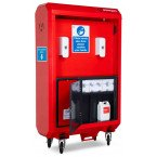 Armorgard Sanistation Pro SP160 Hand Sanitiser Mains Water Wash Station - Secure storage