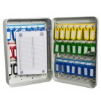 Safe Saver Key Systems Cabinet 42 hooks Combination index card