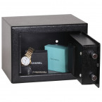 Phoenix SS0721E Compact Home Office Safe - door open