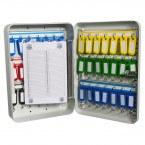 Safe Saver SS42E Key Storage Cabinet Electronic Locking 42 Keys - showing key control card