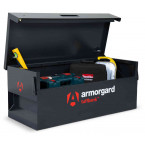 Armorgard Tuffbank TB6 Security Tested Truck Tool Storage Box - in use