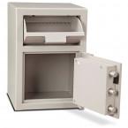 Burton Teller 2E Electronic V-Trap Drawer Deposit Safe - door bolts