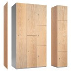 Probe MDF Laminate Face Locker End Panel 323mm Deep