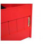 Armorgard Trekdror TKD1 Van Security Tool Storage Lockable Drawer  - Lock close up