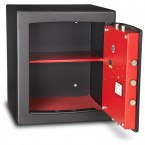£4000 Cash Digital Security Safe - Burton Torino NMT/7P - door open