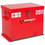 Armorgard Transbank TRB1 Portable Flammable Storage Chest - Closed