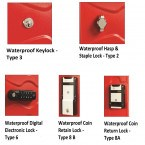 Probe Ultrabox Waterproof Lock Options for use outdoors in all weather