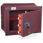 Burton Unica 2K £6,000 Key Lock Wall Security Safe - door ajar