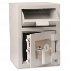Burton Teller V51 Front Loading Deposit Safe-open doors