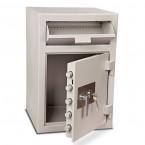 Burton Teller V76 Deposit Cash Safe all doors open