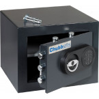 Chubbsafes Zeta 15E Open Contents  with fixing bolts displayed