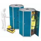 Probe Space Saving 7 Compartment Locker Pod