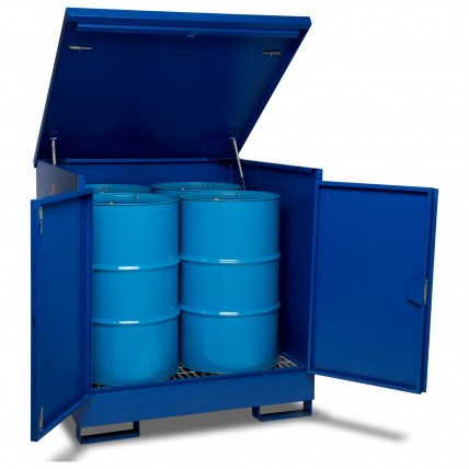 Drum Storage & Spill Bunds