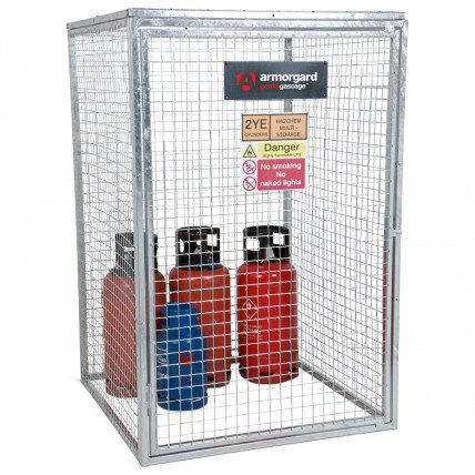 Wire Mesh Gas Bottle Cages