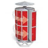 Space Saving POD Lockers