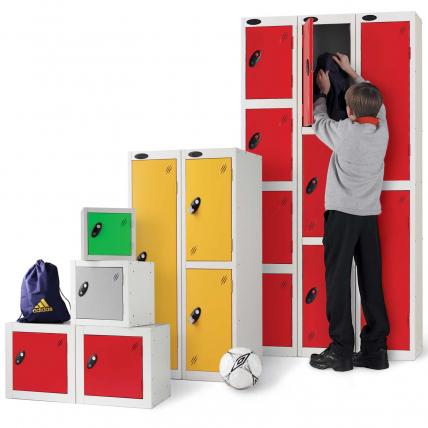 Probe School Lockers