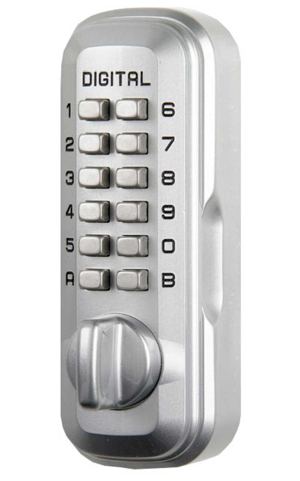 Big Digital Key Safe Chrome 3-5 keys - Lockey LKS500/SC