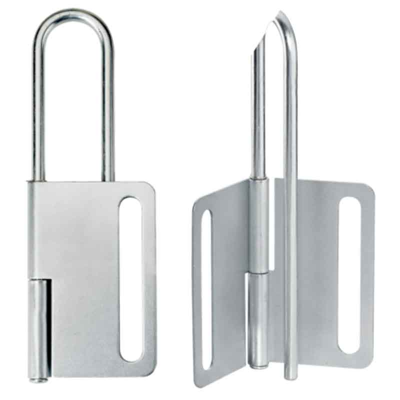 Master Lock 419 Steel Lock-out Hasp for 8 padlocks