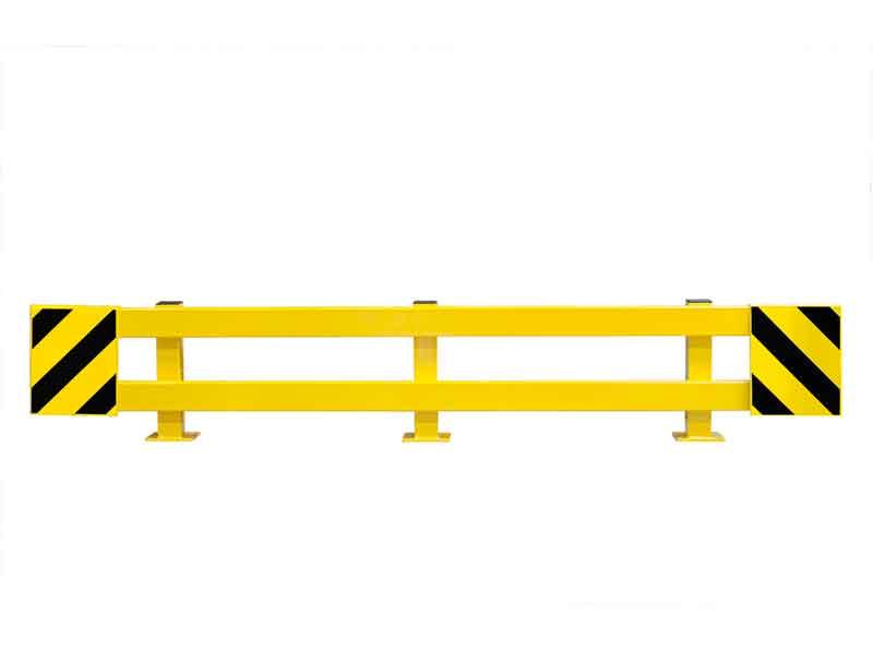 End Frame Pallet Racking Protector Adjustable 2300 to 2700mm