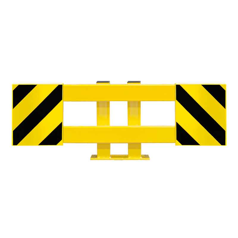 End Frame Pallet Racking Protector Adjustable 900 to1300mm